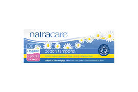 Tampons Natracare