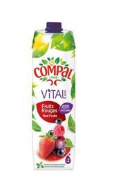 Getränke mit Fruchtgeschmack COMPAL