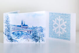 Cartes de vœux et de correspondance Photo Dudau
