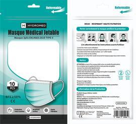 Masques pour PPC HHYDROMED