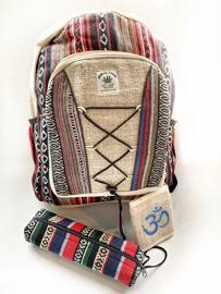 Schulranzen Kulturtaschen Rucksäcke Handmade from Nepal