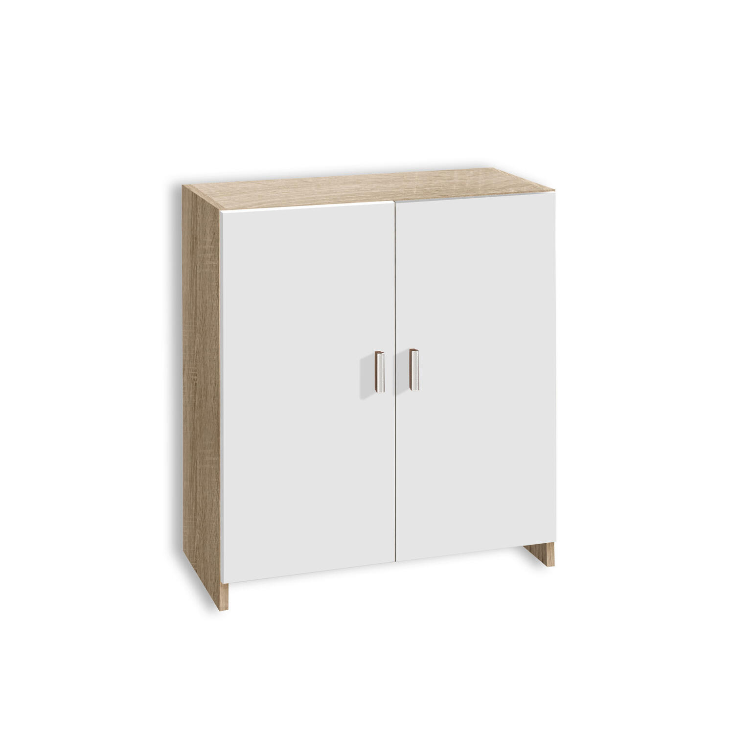 Commode Chene Blanc Sonoma 60 Cm Letzshop