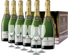 Champagner Delamotte