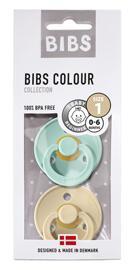 Tétines pour bébés Sucettes et anneaux de dentition BIBS Colour
