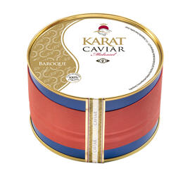 Frische(r) & tiefgefrorene(r) Fisch/Meeresfrüchte Delikatessen Präsentkörbe Karat Caviar