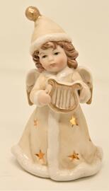 Offices religieux et cérémonies Décorations de Noël et saisonnières Figurines Articles de collection Divers Engel mit LED Leuchte