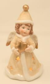 Offices religieux et cérémonies Décorations de Noël et saisonnières Figurines Articles de collection Engel mit LED Leuchte