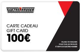 Cartes et chèques cadeaux Electro Hauser