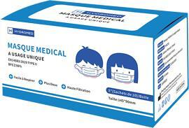 Masques pour PPC HYDROMED