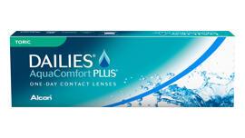 Lentilles de contact Dailies AquaComfort Plus