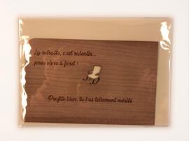 Cartes de vœux et de correspondance Holzpost