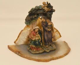 Loisirs créatifs Crèches de Noël Figurines Objets religieux Krippe handgefertigt