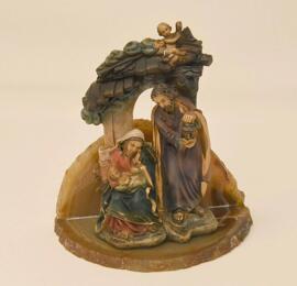 Loisirs créatifs Crèches de Noël Figurines Objets religieux Weihnachtskrippe handgefertigt