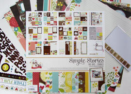 Papier cartonné et papier pour scrapbooking Simple Stories