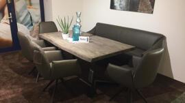Ensembles de meubles de cuisine et de salle à manger Eisleker Miwwelstrooss