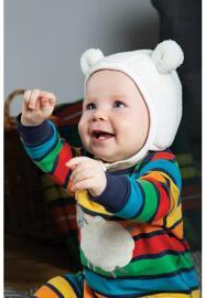 Vêtements de plein air pour bébés et tout-petits Articles de chapellerie et couvre-chefs Cache-oreilles Bonnets FRUGI
