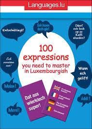 Livres de langues et de linguistique Livres Languages.lu Luxembourg