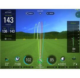 Outils d'entraînement pour le golf SkyTrak