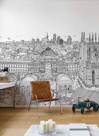 Décoration murale Papiers peints WALLPEPPER