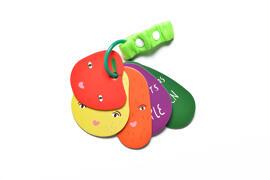 Accessoires de poussette pour bébés Jouets alphabet Wee Gallery