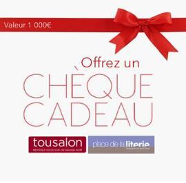 Geschenkgutscheine Tousalon et Place de la Literie