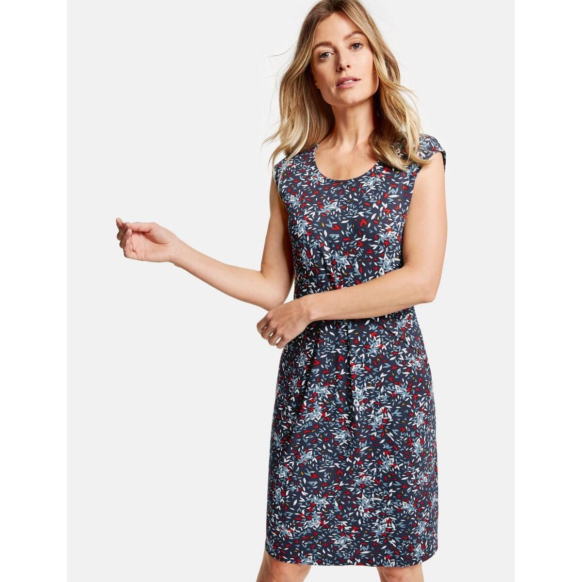 gerry weber collection leichtes kleid mit minimaldessin -36