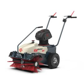 Elektrische Kombi-Gartenmaschinen-Sets Kehrmaschine Cramer