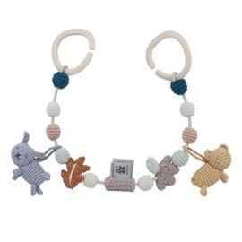 Schnuller & Beruhigung Baby-Mobiles Baby-Aktiv-Spielzeug Baby-Mobile-Zubehör Interaktives Spielzeug sebra