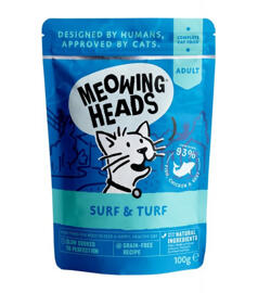 Nassfutter Meowing Head's