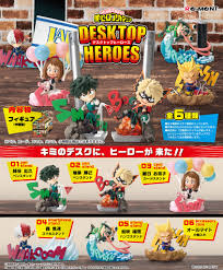 FIG MY HERO ACADEMIA MINI FIGURINE RE-MENT DESKTOP HEROES