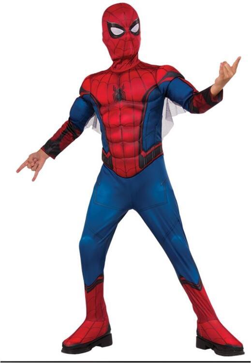 Costume Spiderman Enfant de luxe, Costume pour enfants Taille L