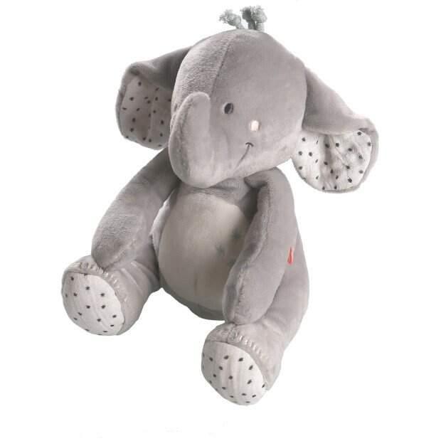 Peluche éléphant Veloudoux 25cm Anna NOUKIES