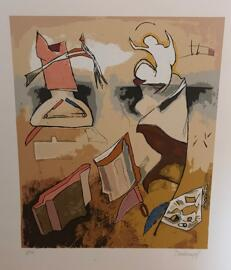 Luxemburgische Künstler Fränz DASBOURG