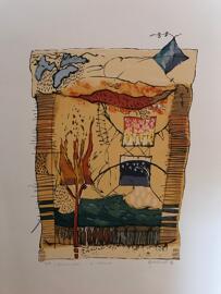 Luxemburgische Künstler Danielle Grosbusch