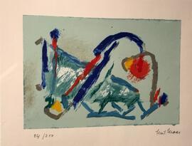 Luxemburgische Künstler Gust Graas