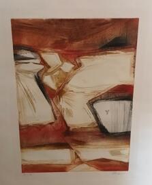 Luxemburgische Künstler Henri KRAUS