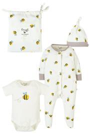 Geschenksets für Babys Baby-Bodys frugi