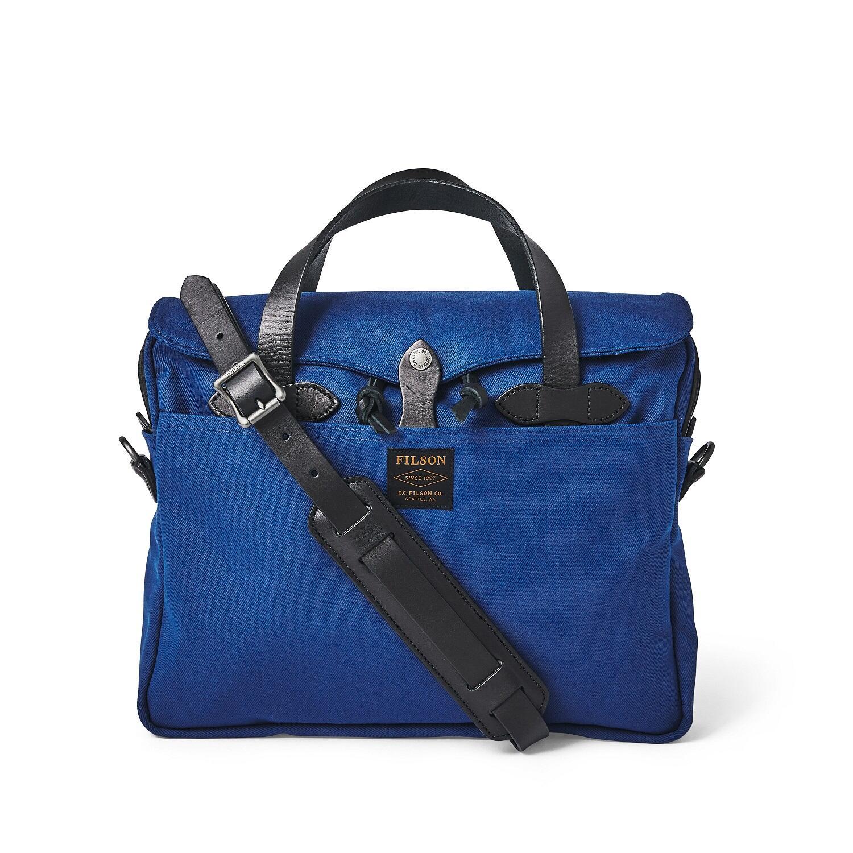 Rugged Twill Original Aktentasche Filson, kobaltblau