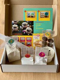 Spielzeug-Geschenkkörbe Backmischungen Sonstiges Mawaka