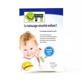 Accessoires de sécurité pour bébés SafetyTat