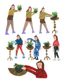 Poster & Bildende Kunst Tara Booth