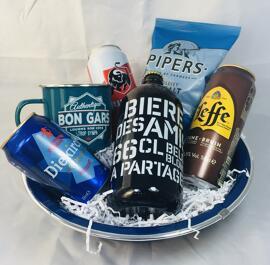 Bière Paniers cadeaux gourmands