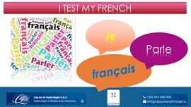 Sonstiges FRENCH FLE -  A1 TO B2 – 20 MINUTES TEST / 15 EUR - LIFELONG-LEARNING.LU