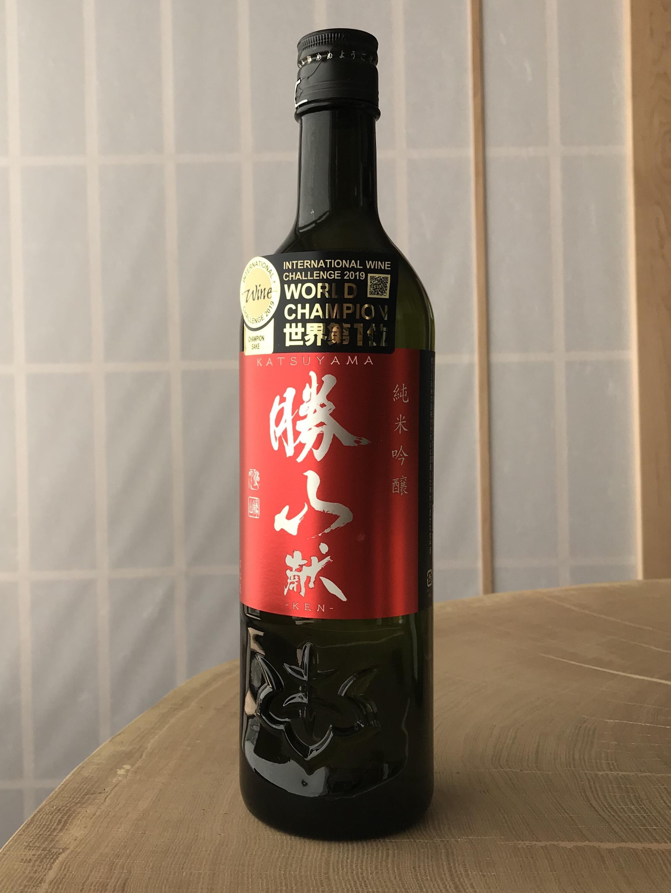 Sake Katsuyama Junmai Ginjo 720ml Alc.16%