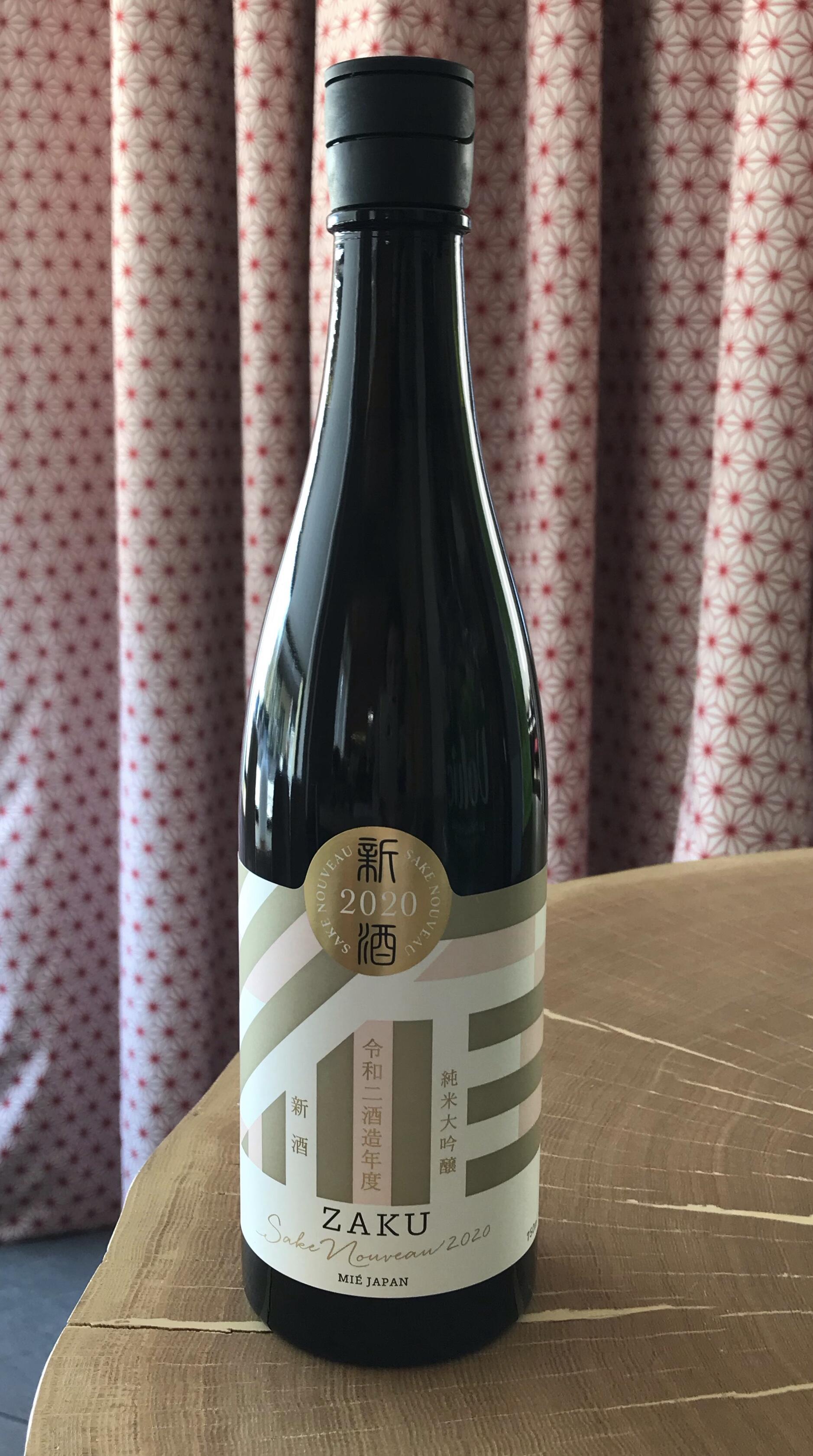 Sake ZAKU Nouveau Junmai Daiginjo 720ml Alc.15%