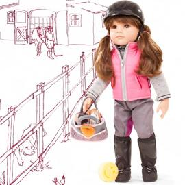 Puppen, Spielkombinationen & Spielzeugfiguren Götz