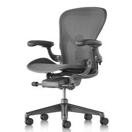 Heim & Garten Büromöbel Büro- & Schreibtischstühle Herman Miller Aeron PFSL
