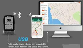 GPS vélo Meilan