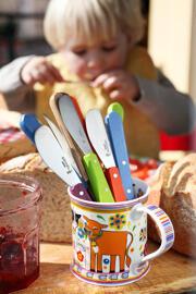 Coffrets d'ustensiles de cuisine Couteaux Couteaux de cuisine Jouets d'éveil pour bébés Dînettes Jeux de ménage Jeux de jardinage Pâte à modeler Lames de rechange pour couteaux Divers Opinel