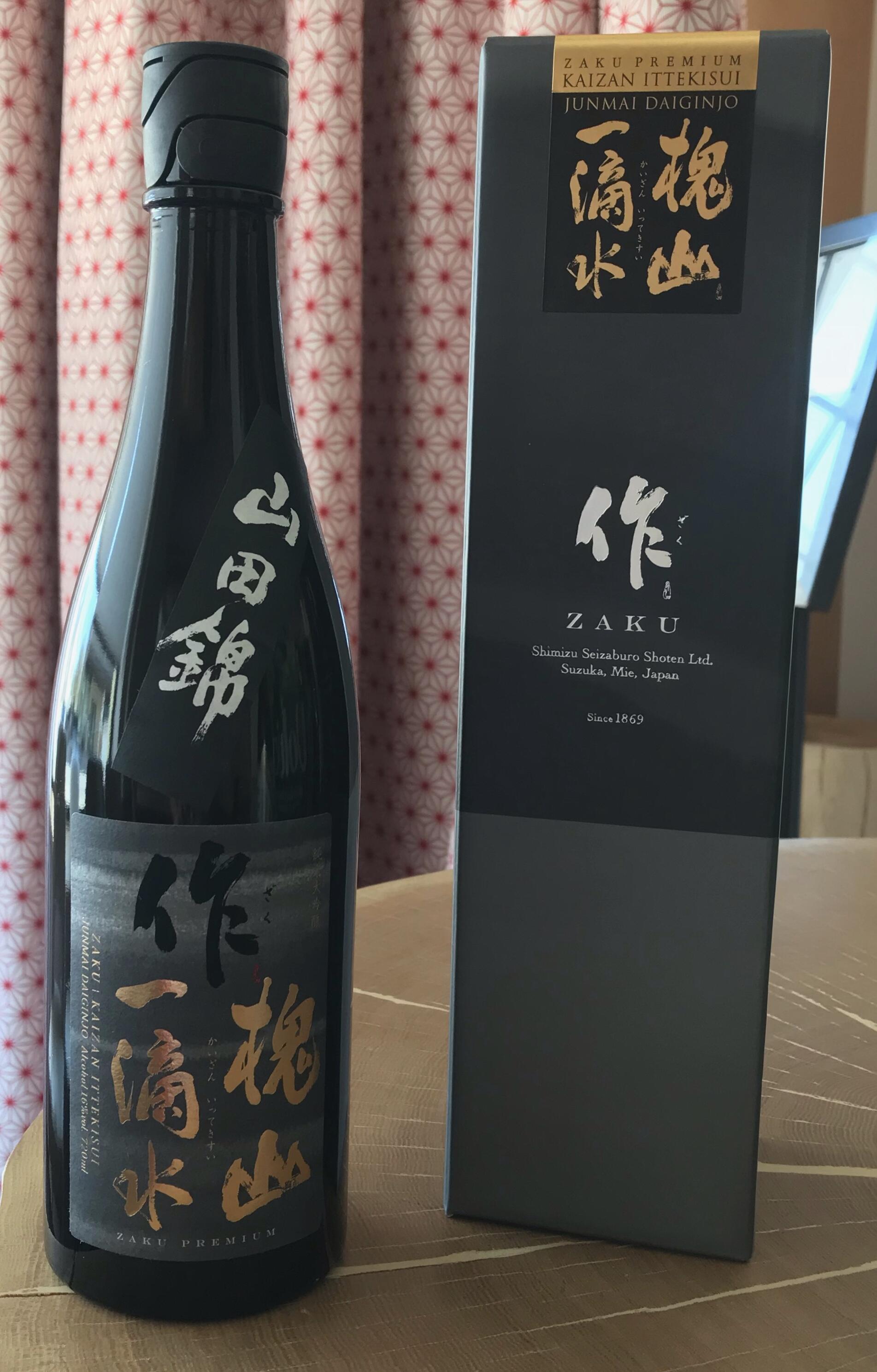 Sake ZAKU Kaizan Ittekisui Junmai Daiginjo 720ml Alc.16%